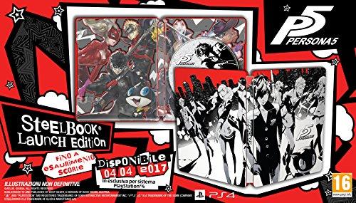 Persona 5 - Edizione Day-One Steelbook - PlayStation 4