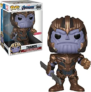 Funko Thanos (Target Exc): 10in Pop Vinyl Figure & 1 Marvel Trading Card Bundle (37145)
