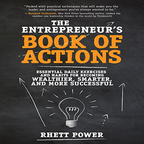 The Entrepreneurs Book of Actions audiobook cover art