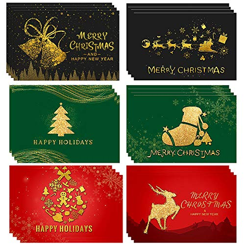 Cartes de noël 3D,Pop Up Carte de Noël,Cartes de Voeux de Noël avec Enveloppes,meilleur cadeau pour Noël,carte-cadeau de Noël