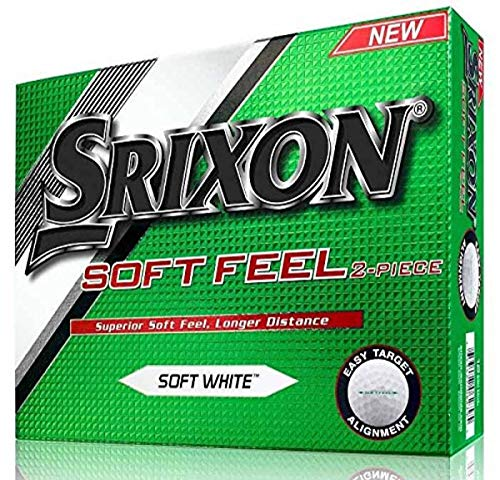 Srixon Soft Feel Golfbälle, ein Dutzend (Version 2016)
