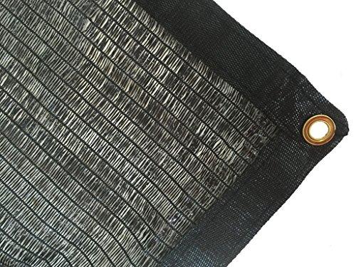 DIR 50% UV Shade Cloth Black Premium Mesh Shadecloth Sunblock Shade Top Quality Panel 12ft x 6ft