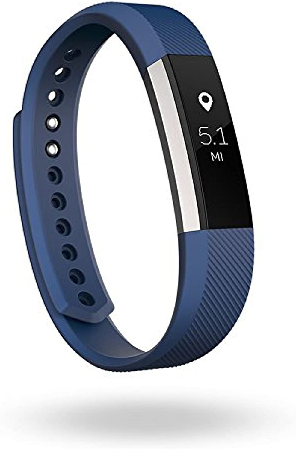 Fitbit Alta Fitness Tracker, Silver blueee, Large