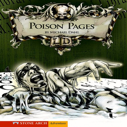 Poison Pages audiobook cover art