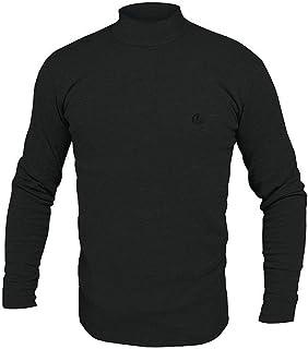 Navigare Lupetto Collo Alto Uomo Manica Lunga Underwear in Cotone Interlock GARZATO - Disponibile in Vari Colori nelle Tag...