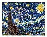 Pracht Creatives Hobby DD9-001 - Diamond Dotz Sternenklare Nacht, funkelndes Diamantbild zum Selbstgestalten, ca. 50,8 x 40,6 cm groß, Malen mit Diamanten, neuer und kreativer Basteltrend