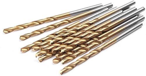 new arrival Mallofusa 99Pcs HSS Twist Drill lowest Bit Kit, Titanium HSS High Speed sale Steel Drilling Bit Set 1.5mm-10mm online