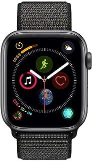 Apple Watch Series 4 - 44mm Space Gray Aluminum Case with Black Sport Loop, GPS, watchOS 5