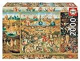 Educa-El Jardín de Las Delicias Puzzle, 2000 Piezas, Multicolor (18505)