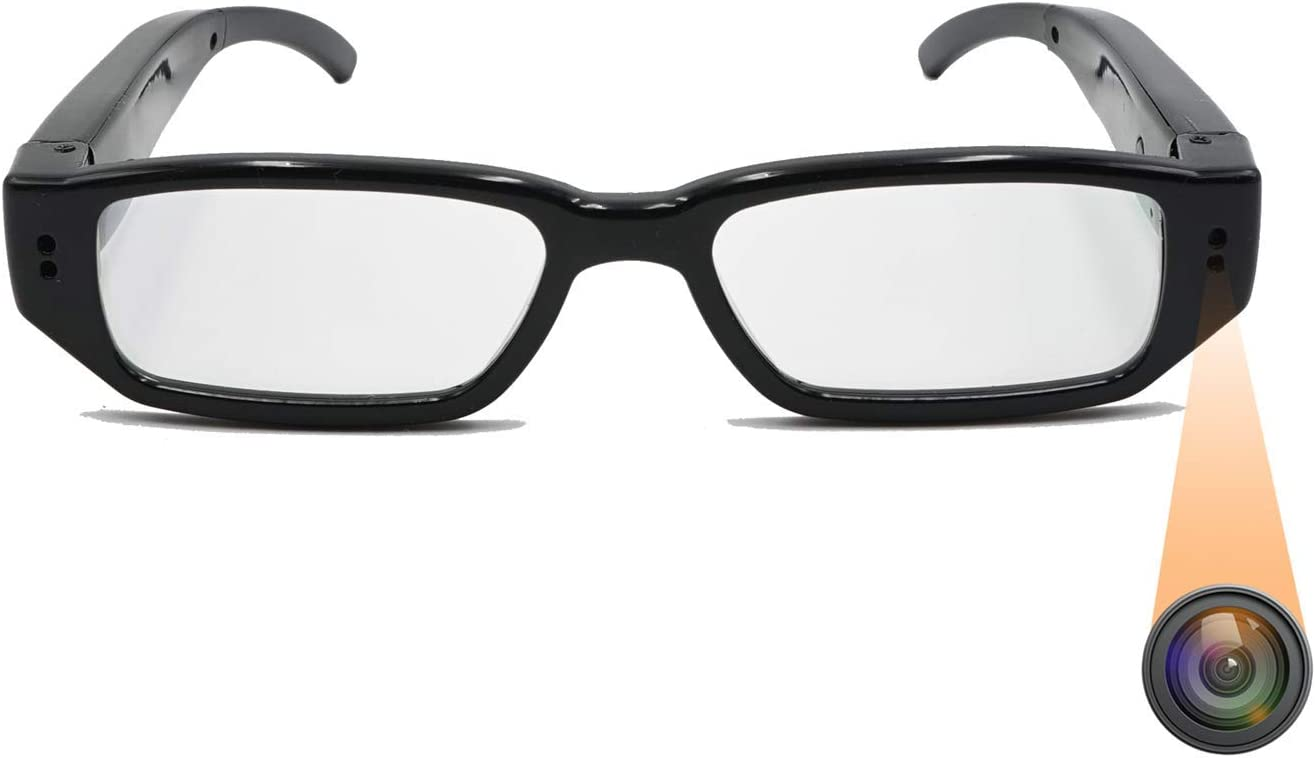 Sheawasy Camera Glasses Full HD 1080p Free Max 40% OFF shipping Photo and Video Shooting