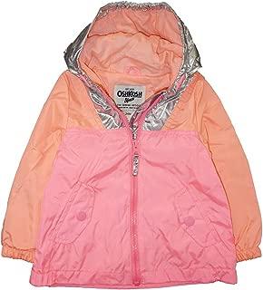 Osh Kosh B'Gosh Baby Girls' Infant Pink & Coral Windbreaker Jacket