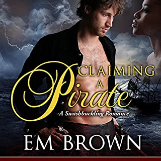 Claiming a Pirate audiobook cover art