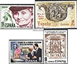 Prophila Collection España Michel.-No..: 2466,2467,2468,2469 (Completa.edición.) 1980 Keller, Maria, filatelia (Sellos para los coleccionistas)
