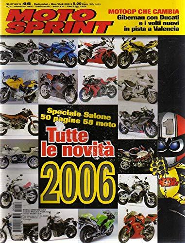 Motosprint 46 Novembre 2005 Bmw K 1200 GT, Aprilia RSV 1000 R