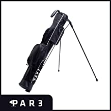 """Par3 Golf [New] Lightweight Sunday Golf Bag with Stand – Easy to Carry & Durable Pitch n Putt Golf Bag – Golf Stand Bag for The Driving Range, Par 3 & Executive Courses – 31.5"""" Tall"""