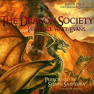 The Dragon Society audiobook cover art