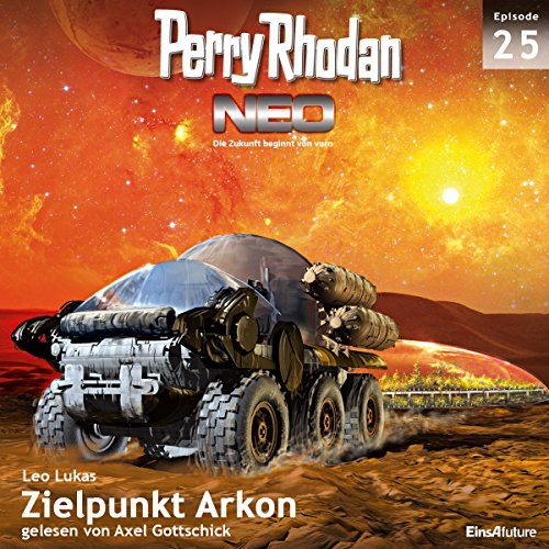 Zielpunkt Arkon audiobook cover art