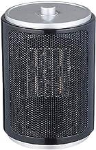 SMLZV Calentador de Espacios, Calentador eléctrico portátil for la Oficina y el hogar, cerámica pequeña Estufa con termostato Ajustable, de vuelco y la protección contra el sobrecalentamiento
