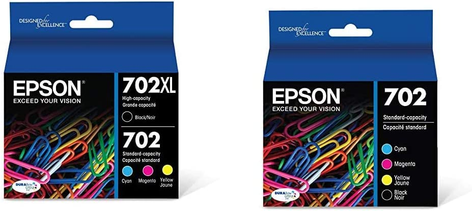 Epson T702XL-BCS DURABrite Ultra Free Shipping Cheap Bargain Gift Black At the price of surprise High and C Color Capacity