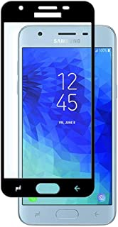 [2-PACK] Samsung Galaxy J3 (2018) Glass Screen Protector - SM-J337V J337T J337A J337 J3 2018 J3 Achieve 2018 J337P Galaxy Amp Prime 3 2018 J337A High Clear Anti Scratch Tempered Glass Screen Protector