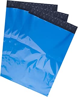 BESTEASY Poly Mailers Shipping Envelopes Bags, 10 x 13-inch, 100 Bags, Blue