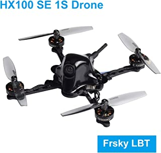 BETAFPV HX100 SE Frsky LBT 1S Brushless Toothpick Drone Carbon Fiber with BT2.0 Connector F4 1S Brushless FC V2.1 25mW VTX 1102 13500KV Motor Micro RC Drone for FPV Freestyle