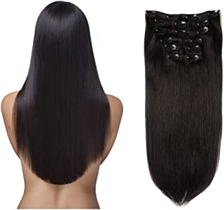 thick clip in human hair extensions uk