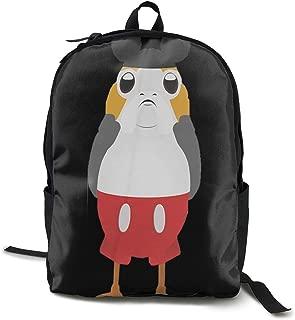 PORG Unisex Backpack, Drawstring Shoulder Bag, Backpack, Pocket Pocket Canvas, Bag Bag, Travelling Bag.