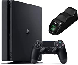 Best 2020 Playstation 4 PS4 Slim 1TB Console Holiday Bundle, Light & Slim PS4 System, 1TB Hard Drive Ghost Manta Charging Station Dock Bundle Review