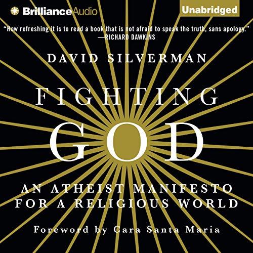 Fighting God audiobook cover art