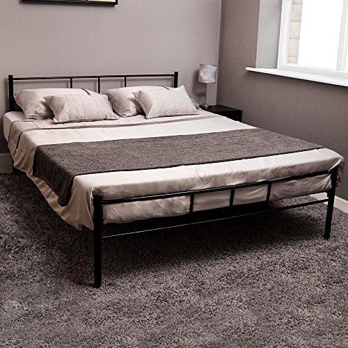 Vida Designs Dorset Bed Double 4 ft 6, Black