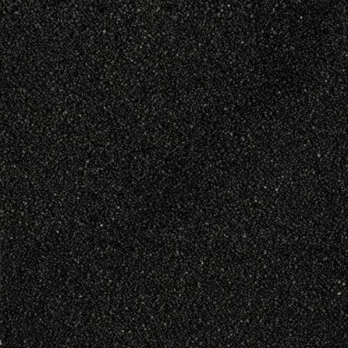 Eurosand 5 kg Dekosand, Farbsand, (schwarz)