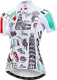 Weimostar Ciclismo Jersey Mujeres Mountain Bike Jersey Camisas manga corta Road Bicicletas ropa MTB Tops verano ropa
