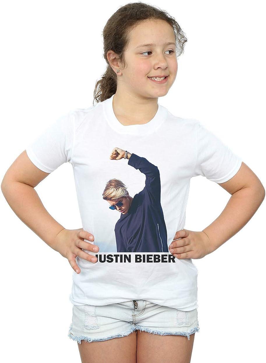 Justin Bieber niñas Shaded Pose Camiseta