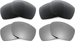 Revant Replacement Lenses for Smith Dockside 4 Pair Combo Pack K021