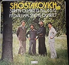 Shostakovich: String Quartets No. 4 & 12 - Fitzwilliam String Quartet (LP)