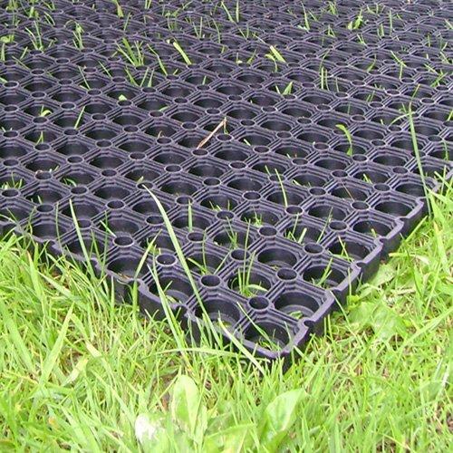 The Shopfitting Robuste Gummi-Grasmatte, Fallschutzmatte für den Spielplatz, 1,5x1m