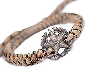 N/A Sieraden Outdoor hand touw hand geweven paraplu touw mannen 925 zilveren armband Moederdag Kerstmis Verjaardagscadeau