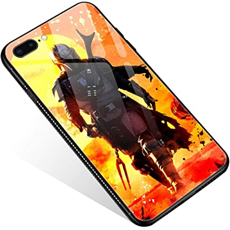Mandalorian Glass Case Phone Cover for Apple iPhone 7