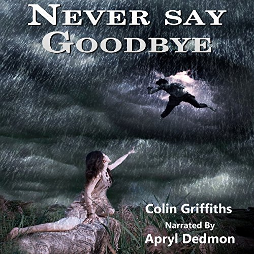 Never Say Goodbye audiobook cover art