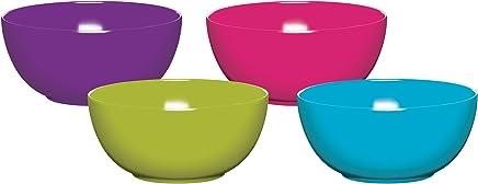Preisvergleich für Colourworks Vierteiliges Melamin-Schüssel-Set, 15 cm