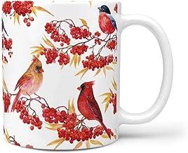Rcerirt - Vaso cambiador con asa multicolor para mujeres, madre, abuela, regalos, cerámica, blanco, 330ml