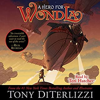 A Hero for WondLa audiobook cover art