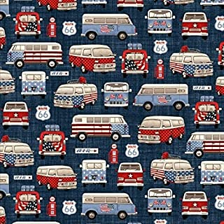 Best all american road trip fabric Reviews