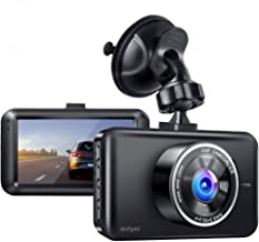 Ainhyzic Dash Cam 1080P Full HD Car Driving Recorder 3-Inch LCD Screen with Super Night Vision, 170° Wide Angle, Loop Recording, WDR, G-Sensor, Parking Monitor, Motion Detection