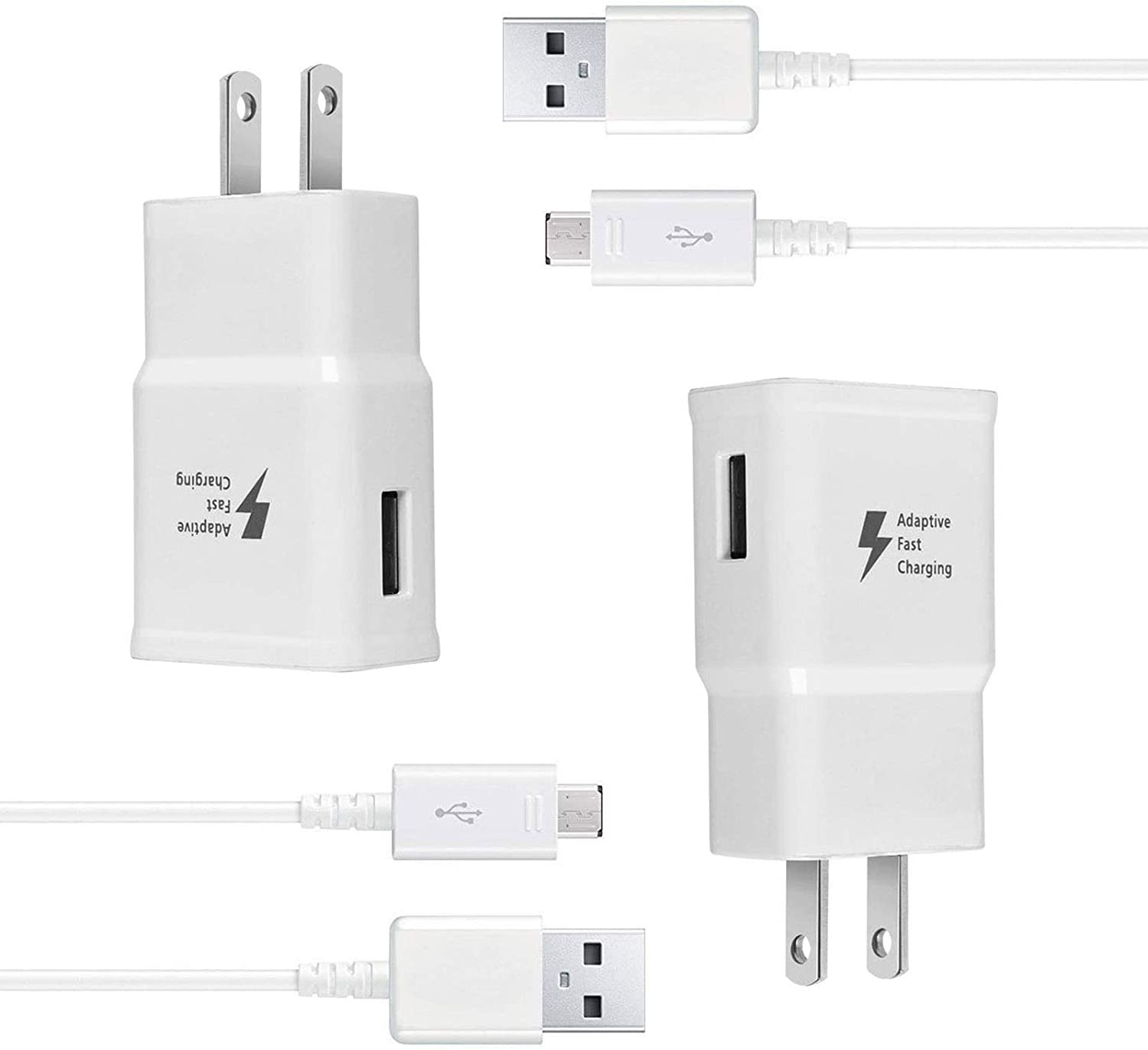 Wall online shopping Charger Kit Complete Free Shipping Adaptive Fast Tablet Compatible Charge Samsung