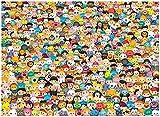 EXking Personaje de Dibujos Animados Avatar Jigsaw Puzzle para niños Adultos, Gran Paisaje Educativo Puzzle Pinturas intelectuales Juego de Rompecabezas para la decoración de la Pared del hogar