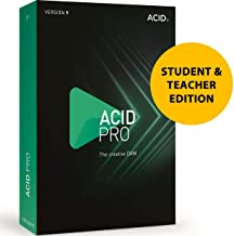 MAGIX Acid Pro 9 for Students & Teachers - Loop-Based Music Production, Powerful Multitrack Recording, Creative DAW