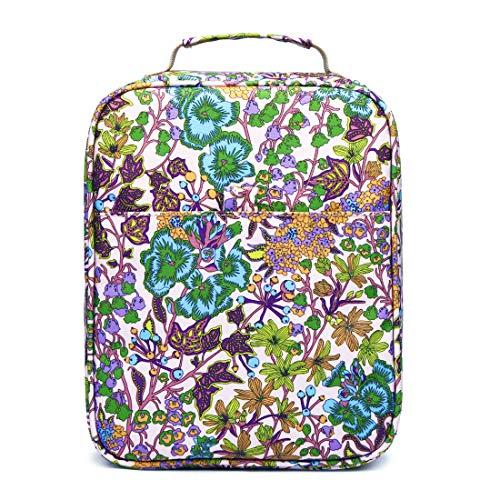 Pencil Case Holder Slot - Holds 202 Colored Pencils or 136 Gel Pens Pencil Organizer Compound Fabric Watercolor Pens Bag ,Flamingo