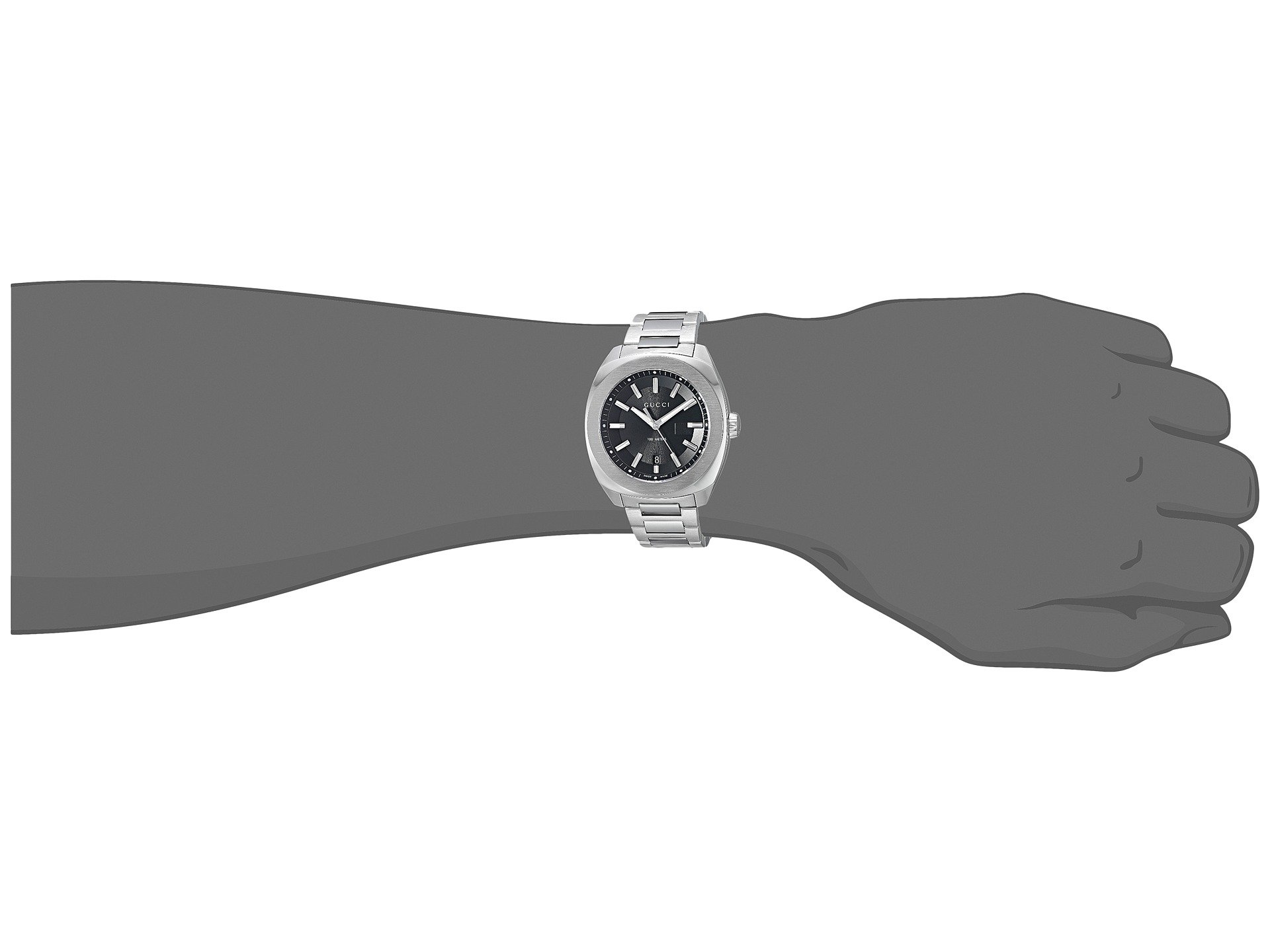 f68080931a7 Gucci GG2570 44mm Bracelet - YA142201 at Luxury.Zappos.com
